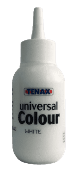 Краситель белый для клея универсальный 300мл Tenax - фото 9591