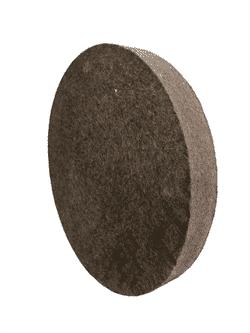 Круг войлочный для полировки Ø 350-400 мм грубошерстный - фото 9693