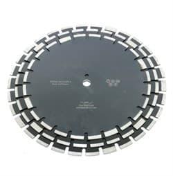 Диск отрезной алмазный по свежему бетону (d. 350 мм) сегментный DIAMASTER [25,4 мм] - фото 9695