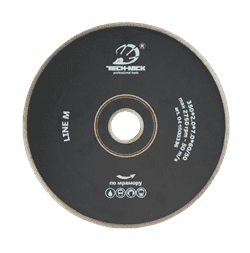 Диск для болгарки по мрамору (d. 125мм) сплошной/тонкий TECH-NICK корона LINE M [22,2 мм] - фото 9704