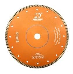 Алмазный диск для болгарки по бетону и кирпичу (d. 125 мм) турбо TECH-NICK BUILD-G [22,2 мм] - фото 9721