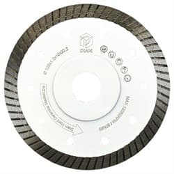 Диск для болгарки по керамограниту/граниту и керамике (d. 125мм) турбо/тонкий Hard Ceramics Master Line DIAM [22,2 мм] - фото 9730