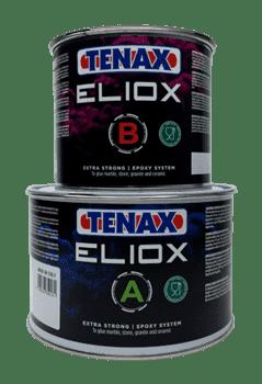 Эпоксидный клей для мрамора полугустой Tenax ELIOX A+B (прозрачный) 1.5+0,75л - фото 9777