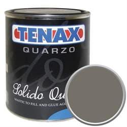 Полиэфирный клей густой Tenax Solido Quarzo Bark (темно-серый) 1л - фото 9961