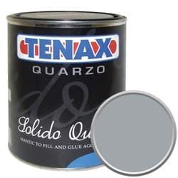 Полиэфирный клей густой Tenax Solido Quarzo Grit (серый) 1л - фото 9978