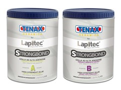 Эпоксидный клей густой Tenax Strongbond A+B (прозрачный) 0,5+0,35л