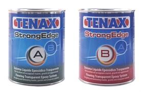 Эпоксидный клей жидкий Tenax Strong Edge A+B (прозрачный) 1+0,5л