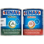 Клей эпоксидный Micto Trasparente (прозрачный, жидкий) 1+1л  Tenax