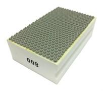 Губка шлифовальная прямая полимерная по мрамору №800 LEO