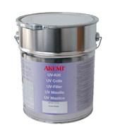 Клей для камня полиэфирный UV Umbra L-special густой бесцветный 10кг Akemi