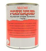 Клей для камня Poly-Liquid жидкий AKEMI темно-бежевый, 1 л (10156)