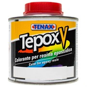 Краситель коричневый Tepox-V для эпоксидной пропитки 250 мл жидкий Tenax
