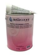 Полиэфирный клей-мастика густой Bellinzoni 2000 StrawYel Solido 02 (светло-бежевый) 6кг