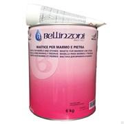 Полиэфирный клей-мастика густой Bellinzoni 2000 Transparente Solido SPEZIAL TAK (медовый) 4кг
