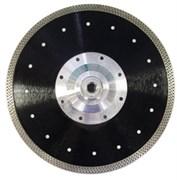 Алмазный диск для болгарки по граниту (d. 230 мм) турбо/тонкий TECH-NICK MIG [22,2 мм]