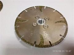 Алмазный диск для болгарки по мрамору (d. 200 мм) гальванический DIAM-S [22,2 мм]