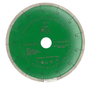 Диск DIAM Granite Elite Ø400*32/25,4 (2,2*7,5) Корона сплошной по граниту