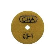 АГШК С3 d. 50мм*20*2 мрамор CHA №1 (Черепашка)