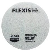Круг войлочный KGS Flexis Ø 425х20мм velcro №800 (синий)