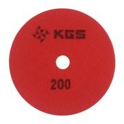 АГШК KGS Swiflex CX d. 115мм №200 гранит/мрамор/кварц (Черепашка)