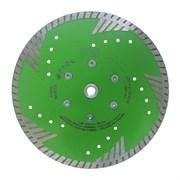 Алмазный диск для болгарки универсальный (d. 230 мм) турбо GRANITE LINE [М14]