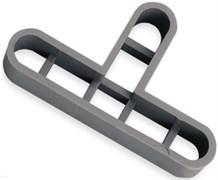 Т-образные крестики для швов для клинкера 10 мм (50 шт) RUBI