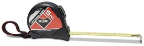 Рулетка RUBI IRONBLADE 5м*25мм двойная шкала