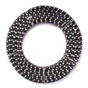 Канат алмазный карьерный VSN Ø11,5 мм по граниту Quarry (резина, 40 перлин/м)