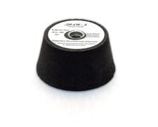 Шарошка по камню бакелитовая абразивная конусная Diam-S Ø80/100(h50)/M14 Black №24