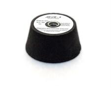 Шарошка по камню бакелитовая абразивная конусная Diam-S Ø80/100(h50)/M14 Black №320