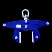 Захват для камня L100-W AUTO LOCK (1300кг/10-100мм) / ножничный AUSAVINA