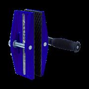Зажим одноручный для переноски плит (Black) / 100кг/0-40мм (комплект 2шт) AUSAVINA