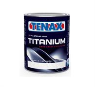 Полиэфирный клей для мрамора густой Tenax Titanium Neutro (прозрачно-белый) 4л