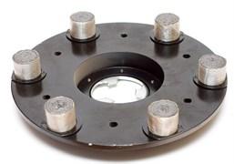 Планшайба металлическая Ø 430 мм LUX (свинец) гранит CHA