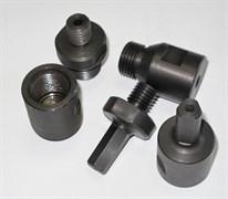 Переходник для сверла цанга 12,6 мм (3-уг.) х 1/2 мама (без подачи воды) Diam-S