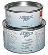 Эпоксидный клей густой Akemi Akepox 5010 (прозрачный) 1,5+0,75кг