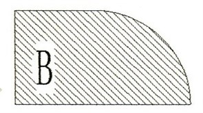 Фреза алмазная профильная B-20 (#30/40) гранит/мрамор вакуумное спекание Diam-S