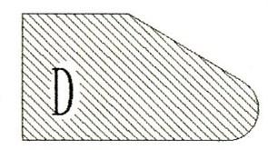 Фреза алмазная профильная D-20 (#30/40) гранит/мрамор вакуумное спекание Diam-S