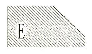 Фреза алмазная профильная E-20 (#30/40) гранит/мрамор вакуумное спекание Diam-S