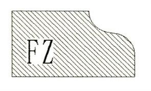 Фреза алмазная профильная FZ-20 (#30/40) гранит/мрамор вакуумное спекание Diam-S