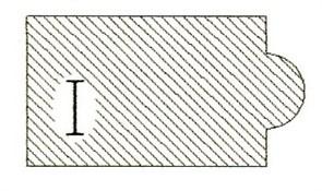 Фреза алмазная профильная I-30 (#30/40) гранит/мрамор вакуумное спекание Diam-S