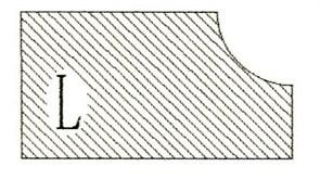 Фреза алмазная профильная L-30 (#60/70) гранит/мрамор вакуумное спекание Diam-S