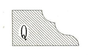 Фреза алмазная профильная Q-20 (#30/40) гранит/мрамор вакуумное спекание Diam-S