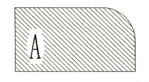Фреза алмазная профильная A-20 (#30/40) гранит спечная Diam-S