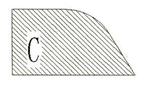 Фреза алмазная профильная C-20 (#30/40) гранит спечная Diam-S