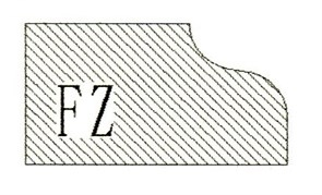 Фреза алмазная профильная FZ гранит спечная Diam-S