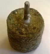Войлок для полировки 50ммх40мм цанга 6 мм