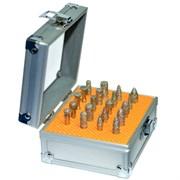 Комплект малых алмазных фрез DIS хвостовик 6 мм - 20 шт. вакуумное спекание
