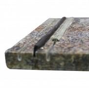 Лента противоскольжения Abrasivi Adria серая (резина)