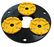 Планшайба металлическая для АШК Ø260 мм CHA